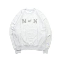 Means RW Crew Neck Sweat S.GREY