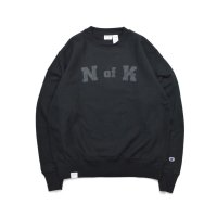 Means RW Crew Neck Sweat Black