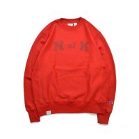 Means RW Crew Neck Sweat Red