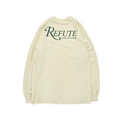 画像2: Refute L/S Tee NATURAL
