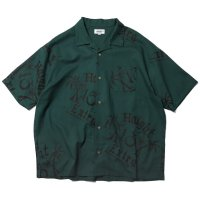 HAIGHT EXTRA OPEN COLLAR SHIRT FOREST